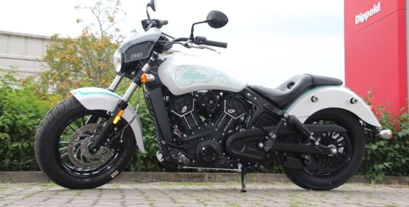 Indian Scout Sixty Umbau