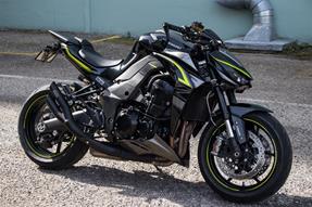 Kawasaki Z1000 R Umbau anzeigen