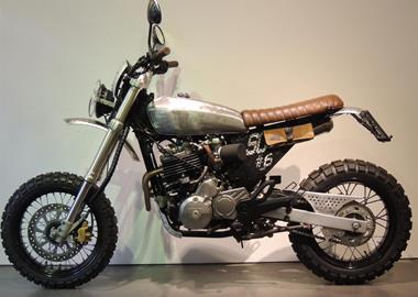 Gebrauchtmotorrad Honda FMX650