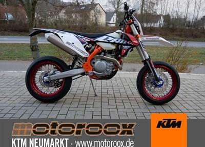 KTM 500 EXC-F Sixdays Stark umgebaut