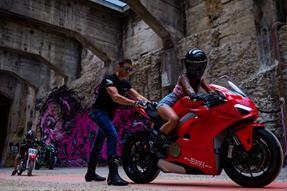 Ducati Panigale V4 Umbau anzeigen