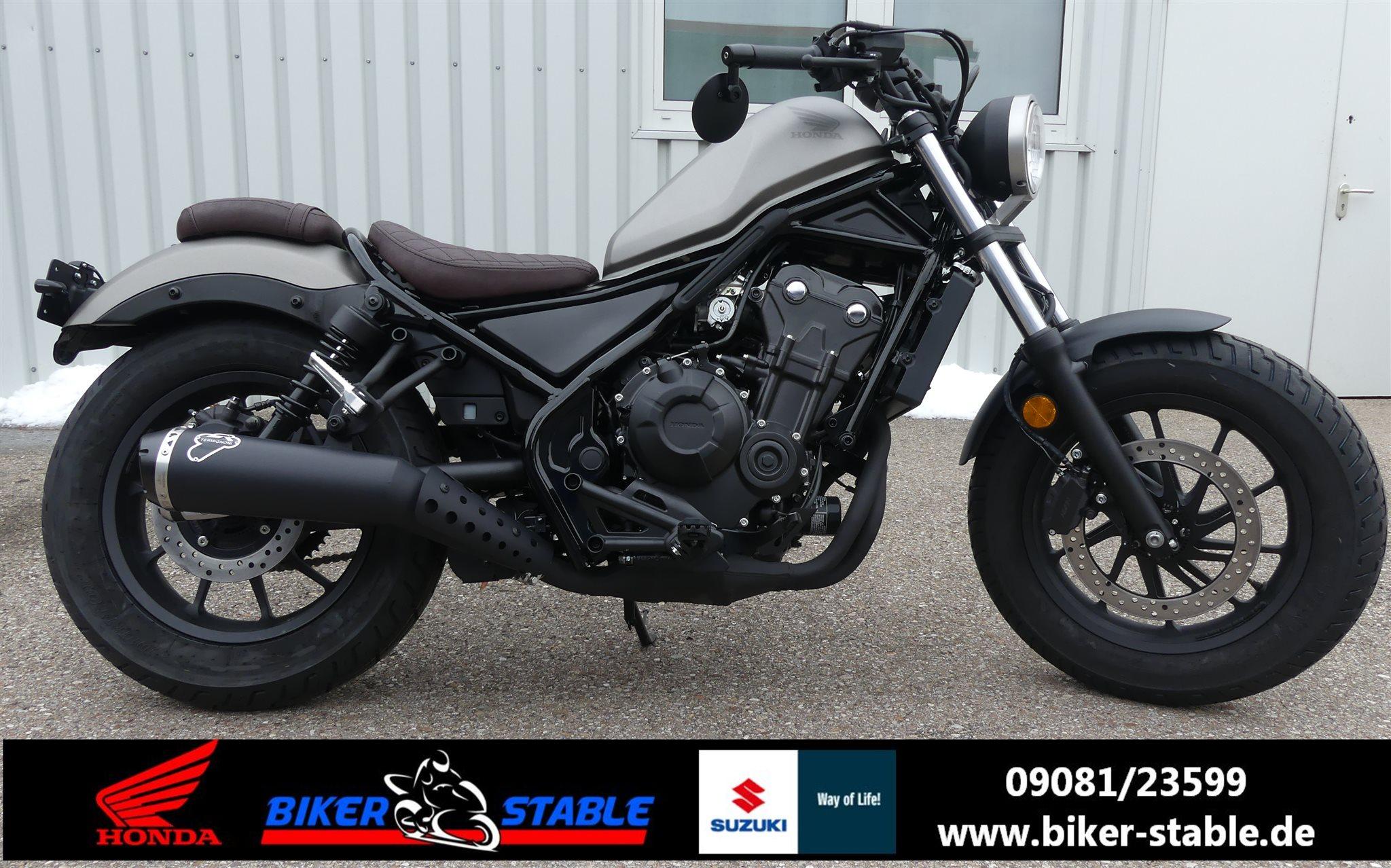 umgebautes motorrad honda cmx500 rebel von biker stable. Black Bedroom Furniture Sets. Home Design Ideas