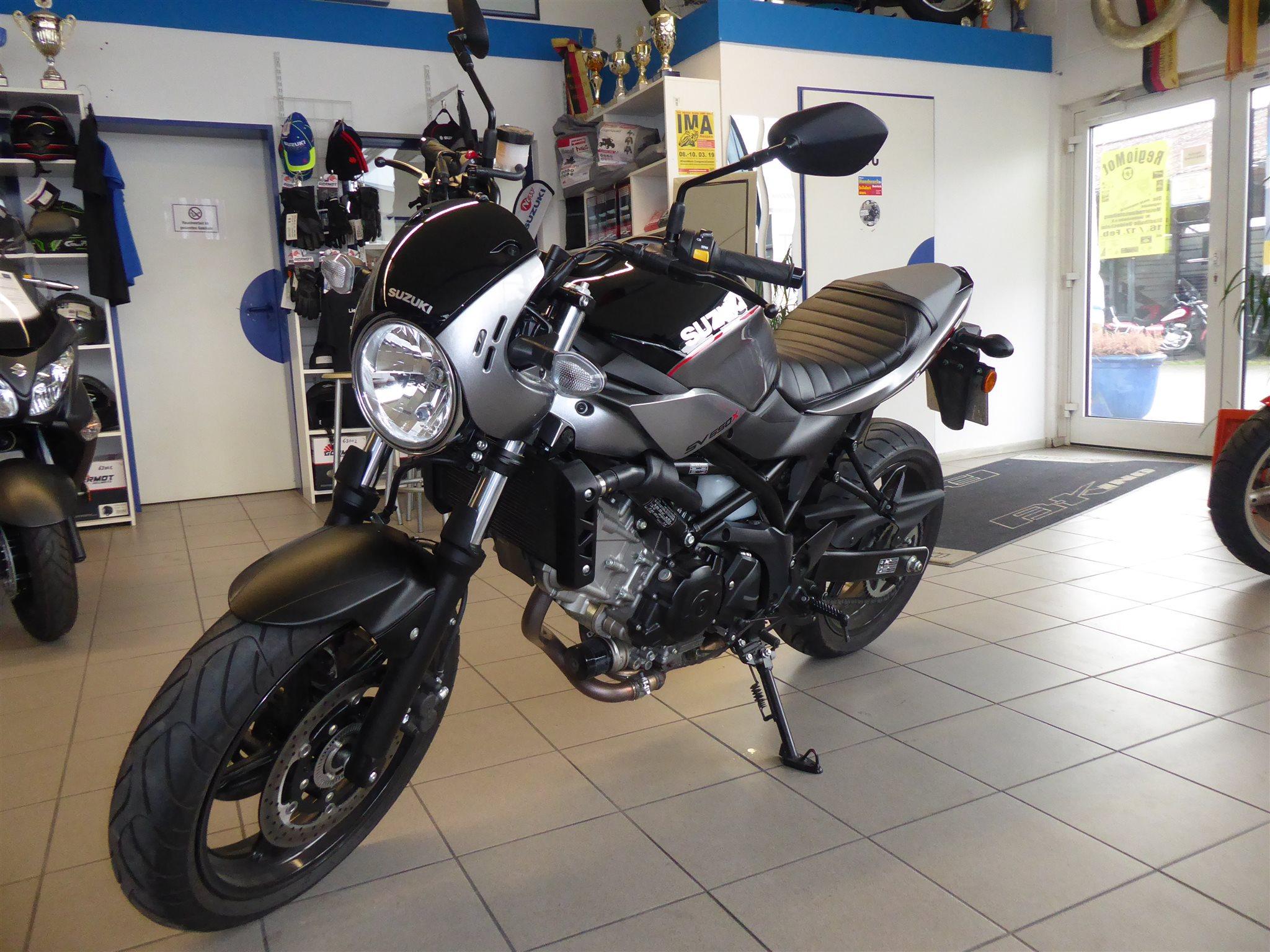 Details zum Custom-Bike Suzuki SV 650 des Händlers