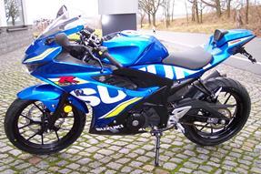 Suzuki GSX-R 125 Umbau anzeigen