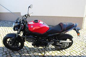 Suzuki SV 650 Umbau anzeigen