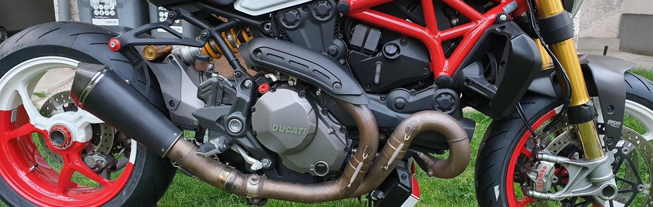 Ducati Monster 1200 S Umbau