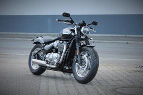 Triumph Bonneville Speedmaster Umbau anzeigen