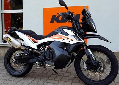 KTM 790 Adventure Ein wenig umgebaut