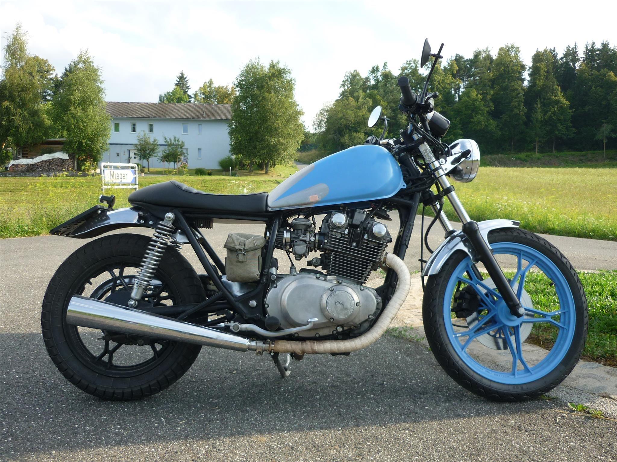 Details zum Custom-Bike Honda CX 500 des Händlers Motorrad