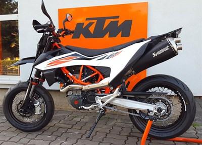 KTM 690 SMC R Ein wenig umgebaut