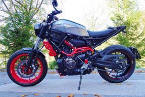 Yamaha MT-07 Moto Cage Umbau anzeigen