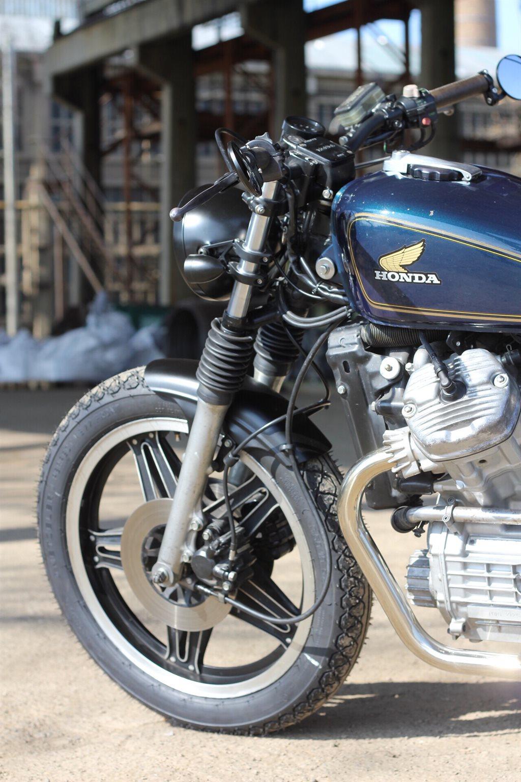 Umgebautes Motorrad Honda CX 500 von BPR-Bikes e.K