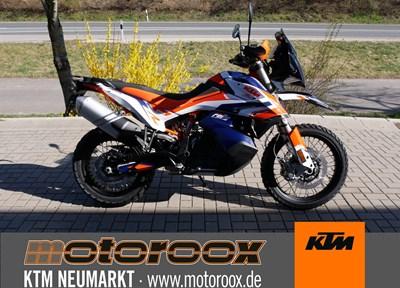 KTM 790 Adventure R Ein wenig umgebaut