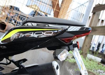 Kawasaki Z 400 Ein wenig umgebaut