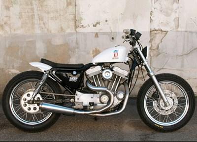Harley-Davidson Softail Low Rider FXLR Komplettumbau