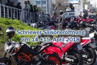 Schriewer Saisonstart 2018
