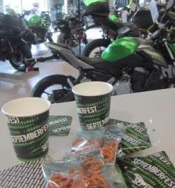 Motorrad Termin Kawasaki Septemberfest