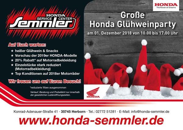 Honda Semmler - Glühweinparty 2018
