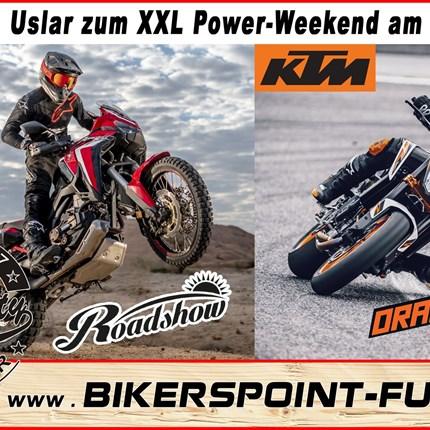 KTM Orange Days XXL 2020 XXL POWER WEEKENDKTM Orange Days &Honda Roadshow28.03.-29.03.2020Die Veranstaltung wurde leider aus den aktuellen Umständen abgesagt.Wir bitten um...