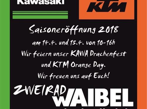 Kawasaki Drachenfest | KTM Orange Day