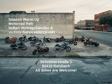 Motorrad Termin Motorrad Reh Season Warm Up! All Bikes are welcome!
