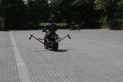 Motorrad Termin Bremsen- und Schräglagentraining