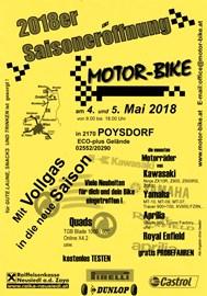 Motorrad Termin SAISONERÖFFNUNG 2018 bei MOTOR-BIKE in POYSDORF