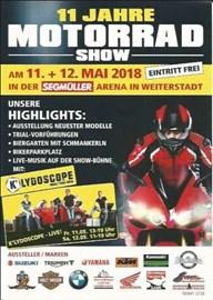 Motorrad Termin Motorrad Show Segmüller Weiterstadt 11. + 12. Mai 2018