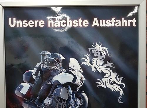 Ausfahrt zum Schloss Bolzenburg
