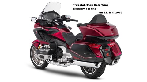 Motorrad Termin Gold Wing GL 1800 Tour mit DCT - Probefahrttag in Rostock