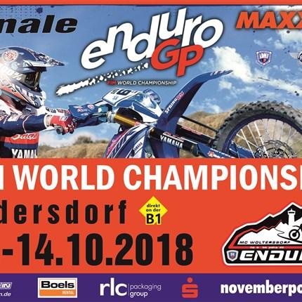 """Enduro GP / Weltmeisterschaft Finale 2018 Start ist Freitag der 12.10. um 17Uhr zum Prolog in der """"Cemexarena"""" am Kesselsee in Rüdersdorf. Dort erwartet euch eine atemberaubende Kulisse mit..."""