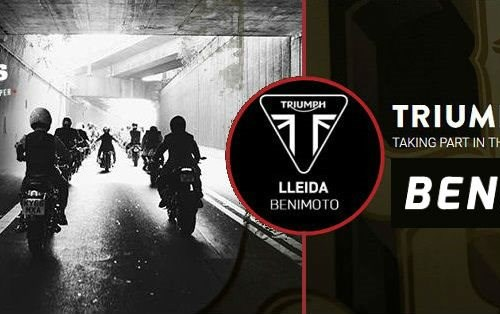 DGR Lleida con TRIUMPH LLEIDA