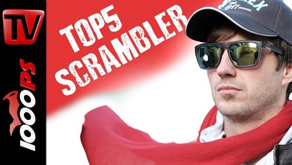 Top 5 - Scrambler Motorräder