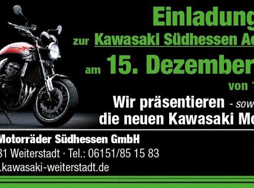 Kawasaki Südhessen Adventsschau 2018