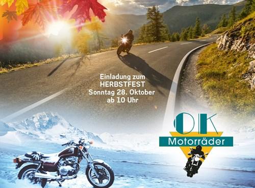 Herbstfest 2018 @OK Motorräder