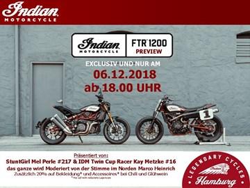 Motorrad Termin FTR Preview