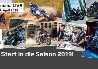 Motorrad Termin Yamaha-Live - Saisoneröffnung