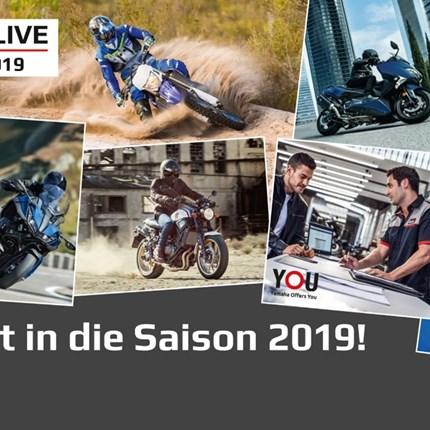 Yamaha-Live - Saisoneröffnung Yamaha LIVE 2019 - Ein Termin, den Sie sich vormerken sollten:Yamaha LIVE - am 6./7. April 2019 bei Ihrem  Yamaha-Händler Fahrzeug-Center Schriewer...