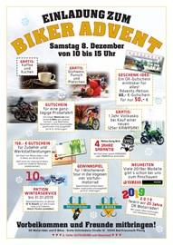 Motorrad Termin Biker - Advent @OK Motorräder
