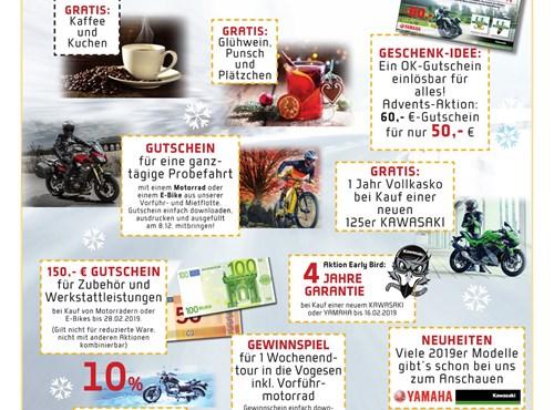 Biker - Advent @OK Motorräder