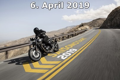 Motorrad Termin Saisonstart 2019 mit Triumph