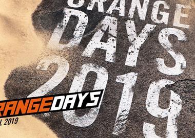 Motorrad Termin KTM ORANGEDAYS 2019