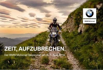 Motorrad Termin BMW Saisonstart 2019