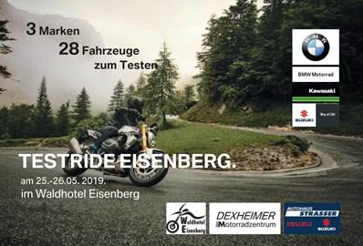 Motorrad Termin Testride Wochenende in Eisenberg