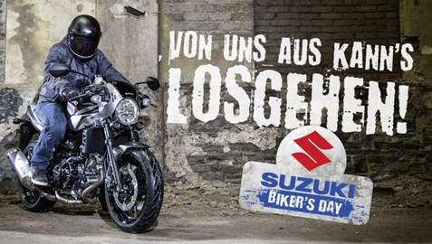 Motorrad Termin Suzuki Bikersday