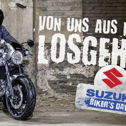 Suzuki Bikersday am 6.+7. April 2019Hier geht´s zum Online-Katalog