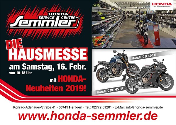 Honda Semmler - Hausmesse 2019