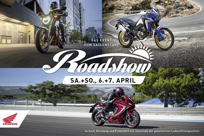 Honda Roadshow 2019 in Feuchtwangen