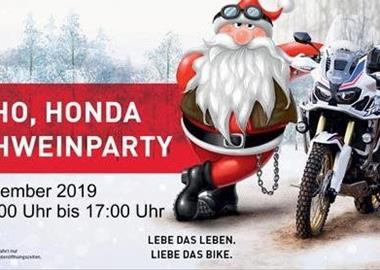 Motorrad Termin Honda Semmler - Glühweinparty 2019