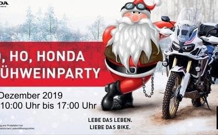 Honda Semmler - Glühweinparty 2019